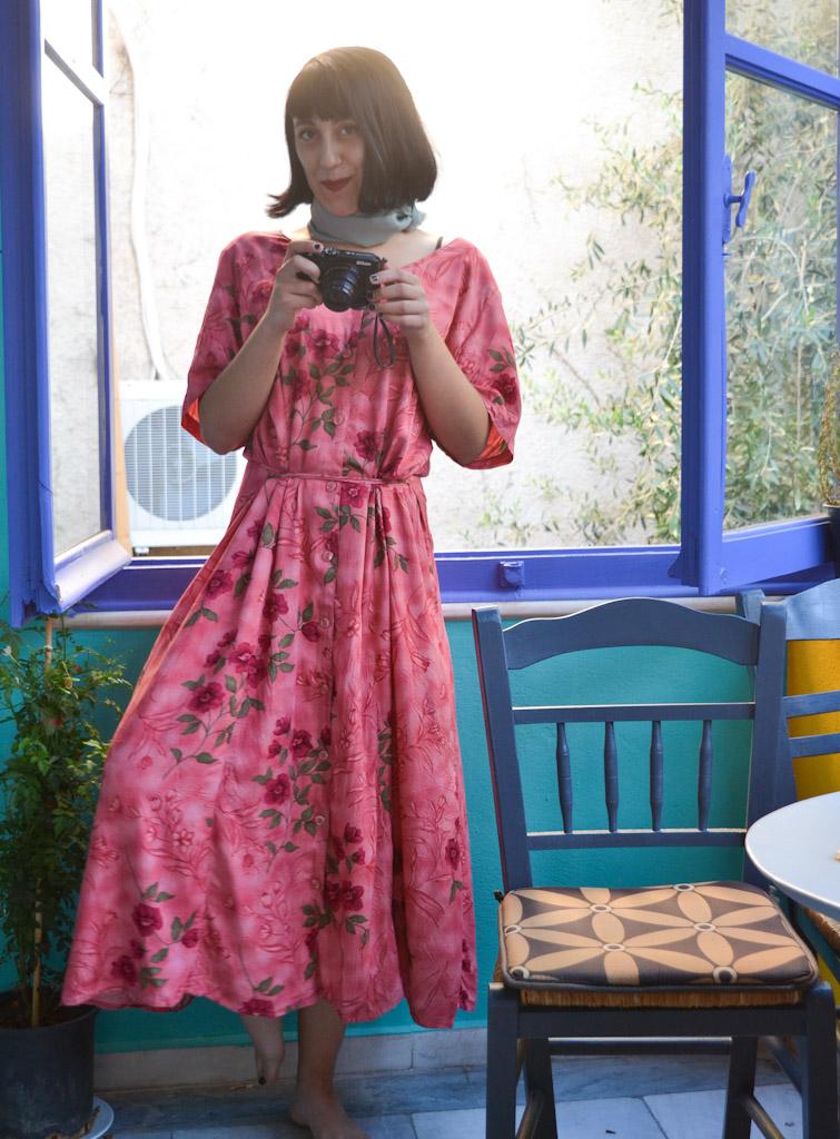 vintage-pink-flower-dress-5