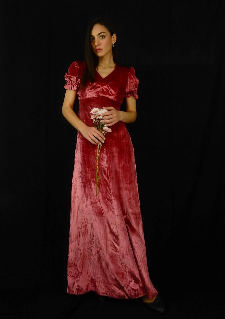 dusty-pink-velvet-vintage-dress-6