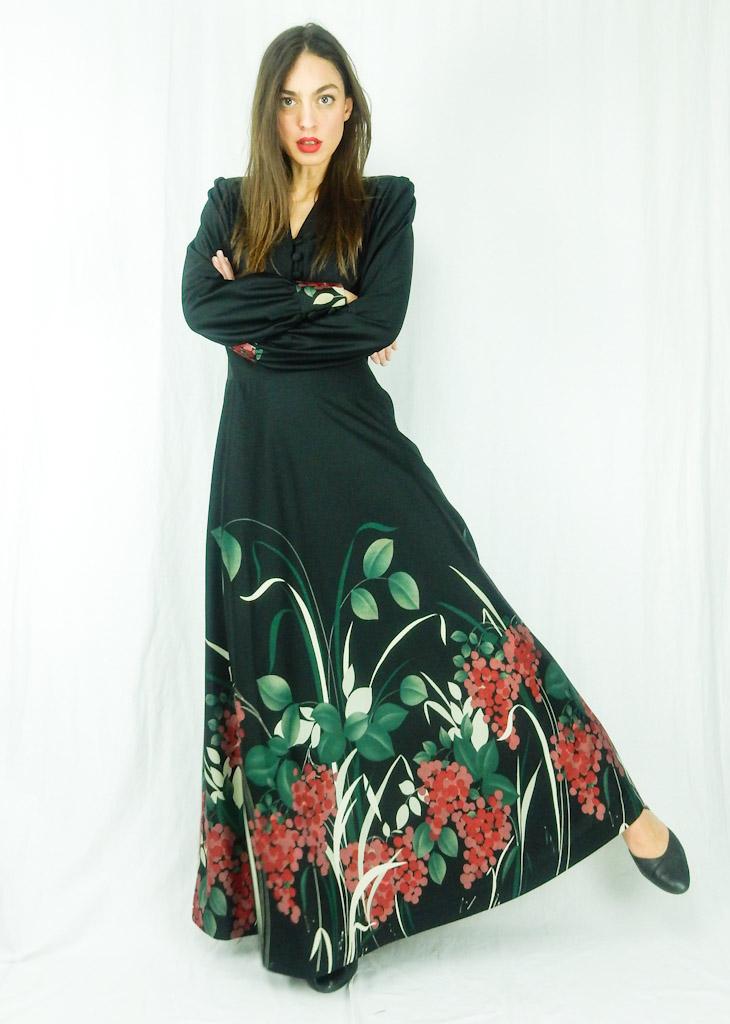 vintage-black-maxi-floral-dress-24
