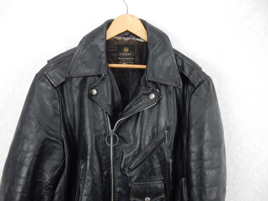 vintage-black-men-morcycle-leather-jacket-m-1