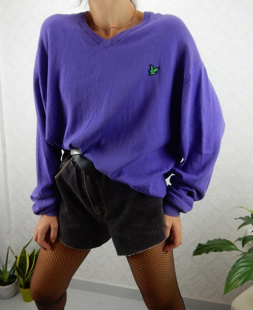 vintage-lyle-n-scott-purple-knit-vneck-2xl-1